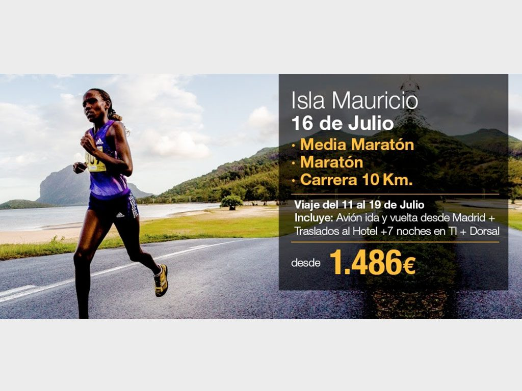 Maratón y Medio Maratón Isla Mauricio
