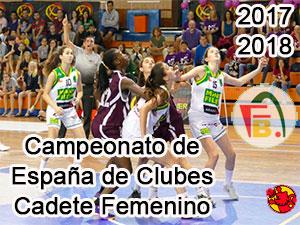 Campeonato de España de Clubes Cadete Femenino Baloncesto